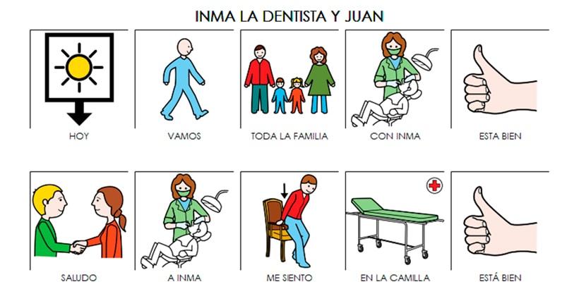 Atención dental en niños con TEA 2019, el regalo de una abuela dentista