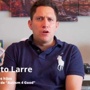 """Ernesto Larre: """"El autismo ha sacado lo mejor de mí"""""""