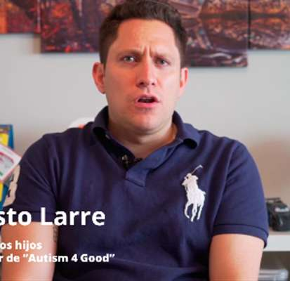 """Ernesto Larre: """"El autismo ha sacado lo mejor de mí"""" - Autism 4 Good"""