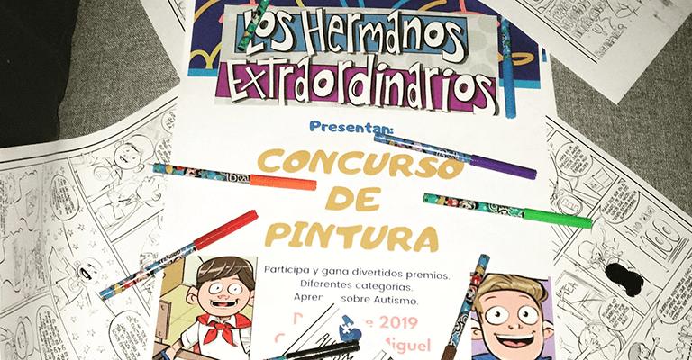 """Iniciamos nuestro concurso de pintura """"Los Hermanos Extraordinarios"""" - Autism 4 Good"""
