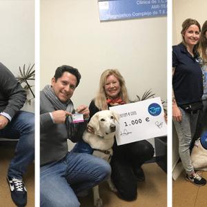 Autism 4 Good dona 1.000 € al proyecto de Cannis Blue en el Hospital Gregorio Marañon