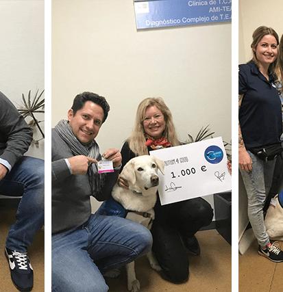 Autism 4 good dona 1.000 € al proyecto de Cannis Blue en el Hospital Gregorio Marañon - Autism 4 Good